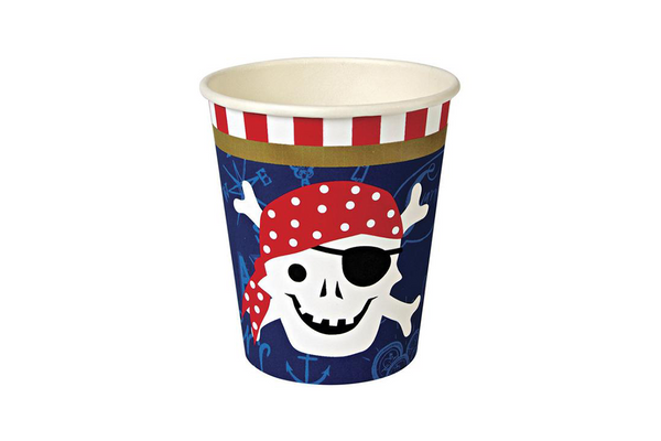 Meri Meri Ahoy There! Pirate Cups | Pop Roc Parties
