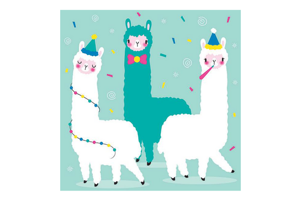 Alpaca Napkins - Pop Roc Parties