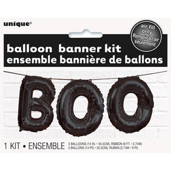 BOO Balloon Garland - Pop Roc Parties