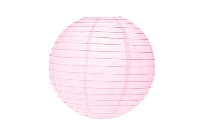 Baby Pink Mini Paper Lanterns - Pop Roc Parties