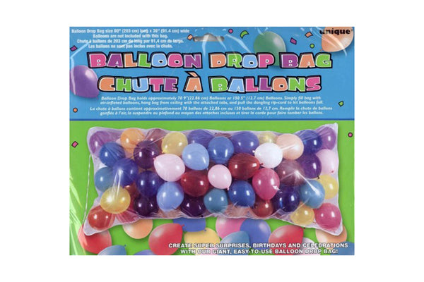 Balloon Drop Bag - Pop Roc Parties