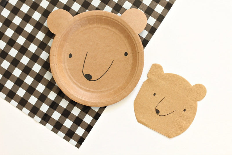 Let's Explore! Bear Plates | Pop Roc Parties