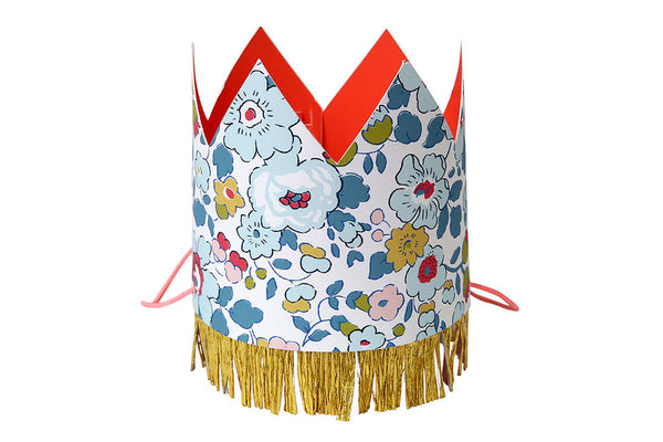 Liberty Betsy Floral Party Hats - Pop Roc Parties