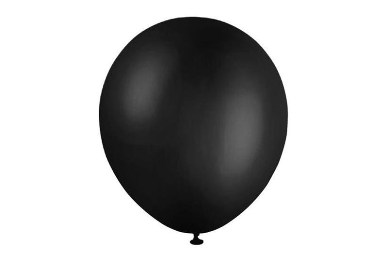 Mini Black Balloon - 12cm | Pop Roc Parties