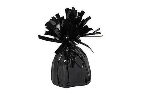 Black Foil Tassel Balloon Weights