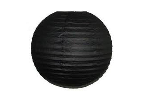 Black Small Paper Lanterns