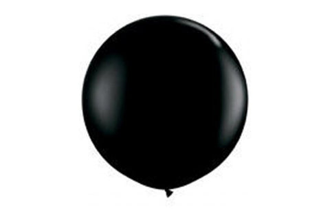 Black Jumbo Balloons - Pop Roc Parties