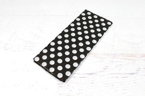 Black Polka Dot Tissue Paper