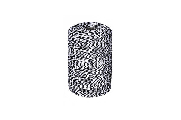 Black & White 12 Ply Twine | Pop Roc Parties