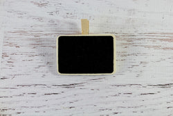 Blackboard Plain Rectangle Peg | Pop Roc Parties