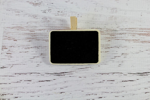 Blackboard Plain Rectangle Peg
