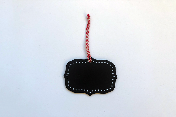 Blackboard Vintage Hanging Tags | Pop Roc Parties
