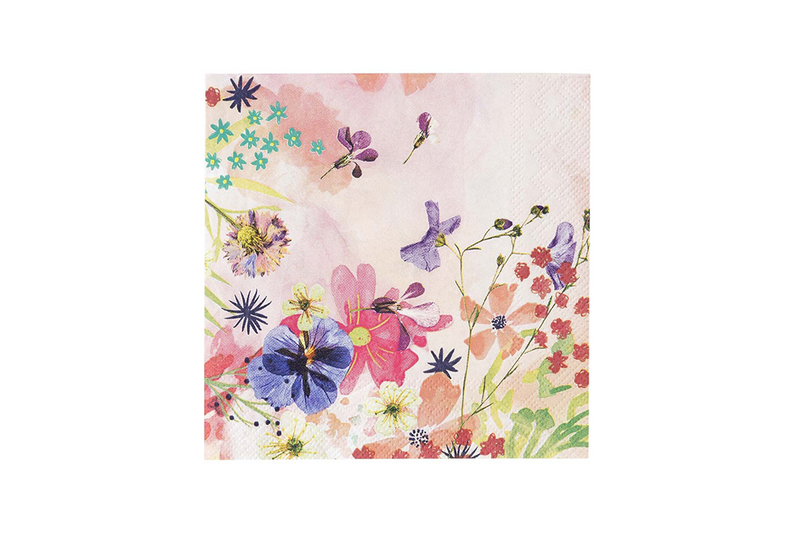 Blossom Girls Floral Napkins | Pop Roc Parties