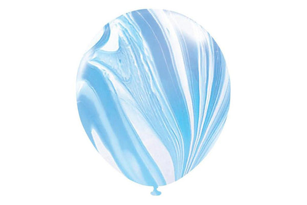 Blue Marble Balloons - Pop Roc Parties