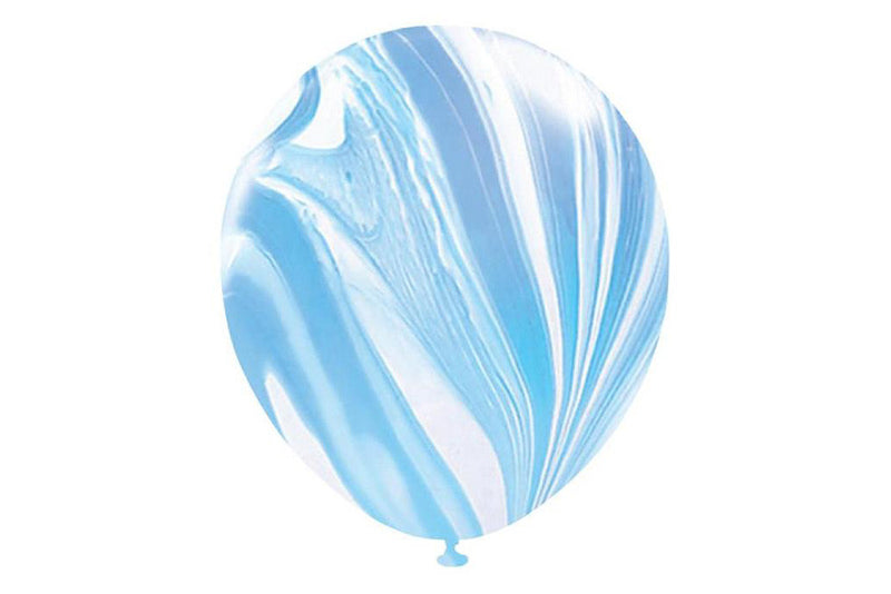 Blue Marble Balloons | Pop Roc Parties