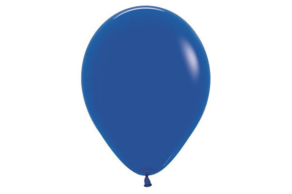 Mini Royal Blue Balloon - 12cm | Pop Roc Parties
