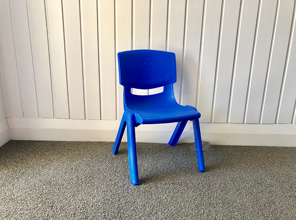 Blue Chair - Pop Roc Parties