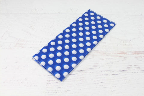 Blue Polka Dot Tissue Paper