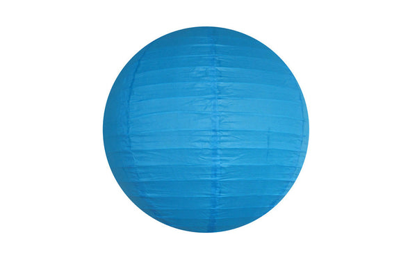 Blue Large Paper Lanterns - Pop Roc Parties