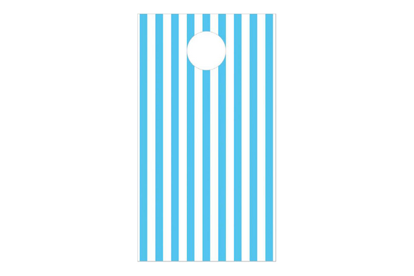 Blue Stripe Party Treat Bags | Pop Roc Parties