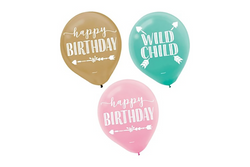 Boho Birthday Balloon Pack | Pop Roc Parties