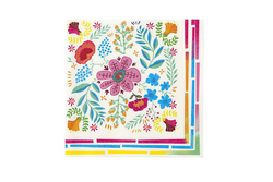 Boho Floral Napkins | Pop Roc Parties