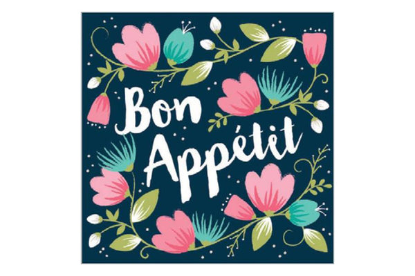 Bon Appetit Napkins - Pop Roc Parties