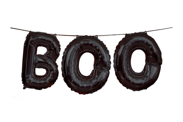 BOO Balloon Garland | Pop Roc Parties