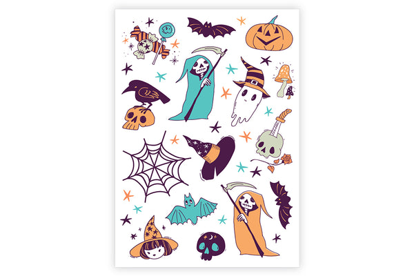 Boo! Temporary Tattoos | Pop Roc Parties