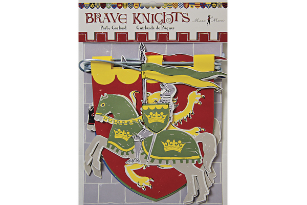 Brave Knights Garland - Pop Roc Parties