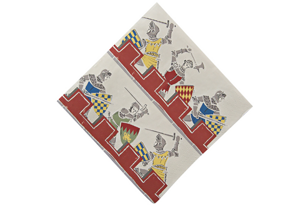 Brave Knights Party Napkins - Pop Roc Parties