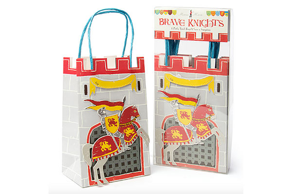 Brave Knights Party Bags - Pop Roc Parties