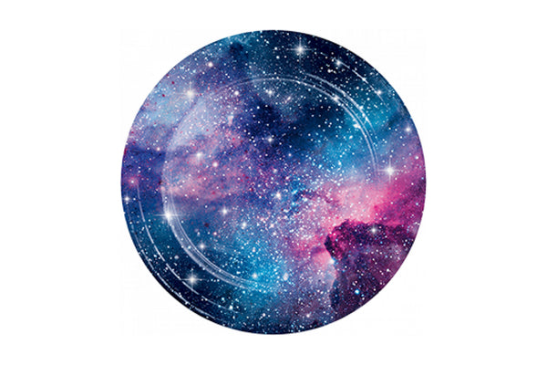 Galaxy Party Plates | Pop Roc Parties