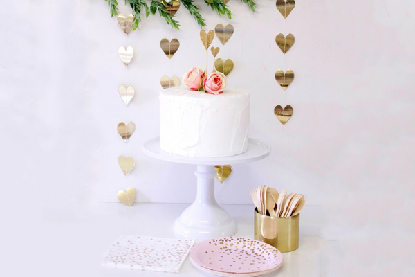 Large Pedestal Cake Stand - Pop Roc Parties