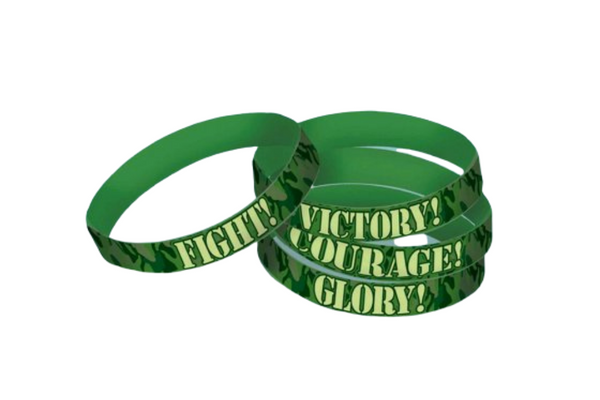 Camouflage Rubber Bracelets | Pop Roc Parties