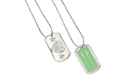 Camouflage Dog Tags | Pop Roc Parties