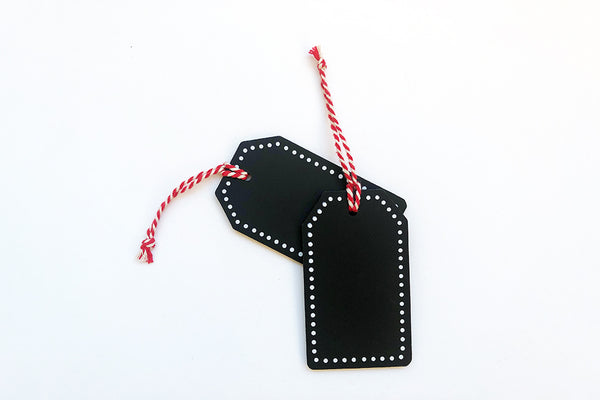Blackboard Gift Hanging Tags | Pop Roc Parties