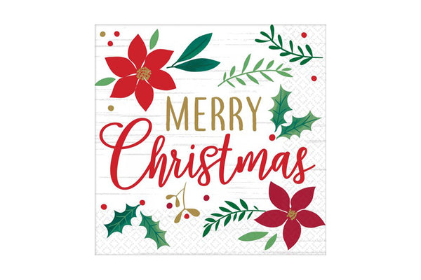 Christmas Wishes Lunch Napkins | Pop Roc Parties