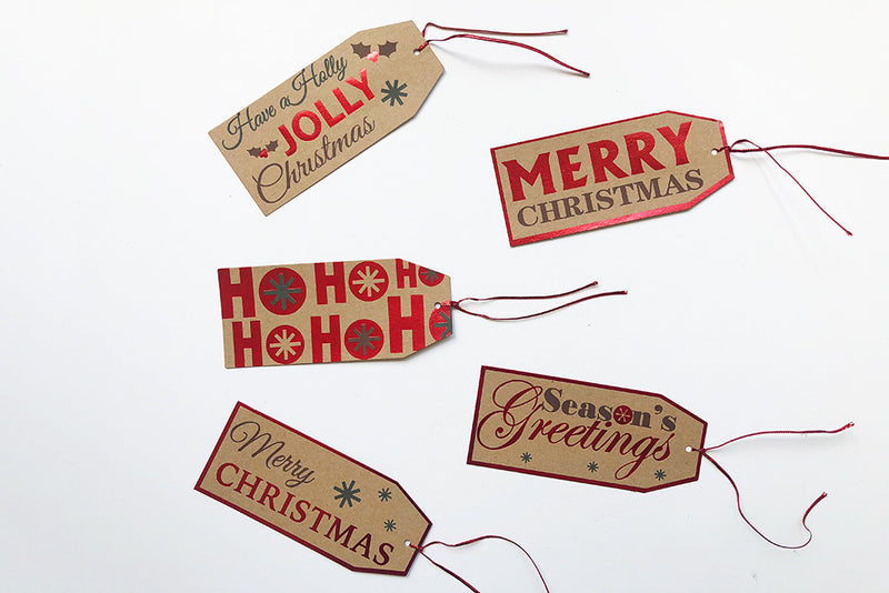 Christmas Gift Tags | Pop Roc Parties