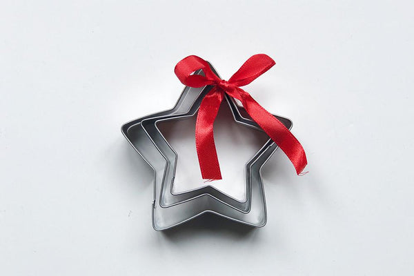 Christmas Star Cookie Cutters - set of 3 | Pop Roc Parties