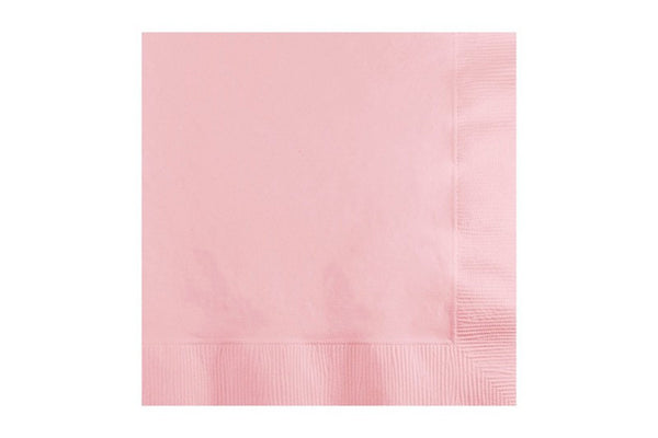 Baby Pink Beverage Paper Napkins | Pop Roc Parties