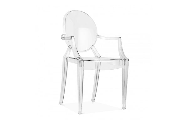 Clear Ghost Chair-Pop Roc Parties