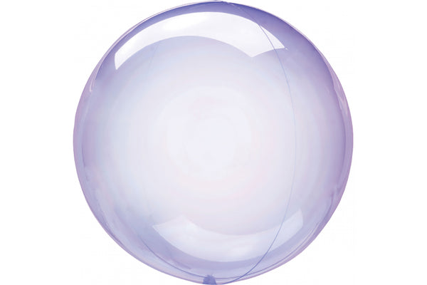 Crystal Clearz Balloon - Purple | Pop Roc Parties