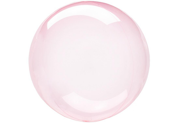 Crystal Clearz Balloon - Dark Pink | Pop Roc Parties