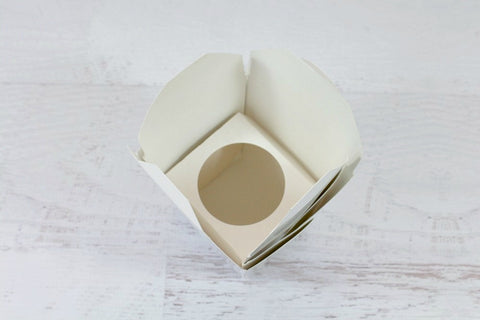 Single Cupcake Box Insert