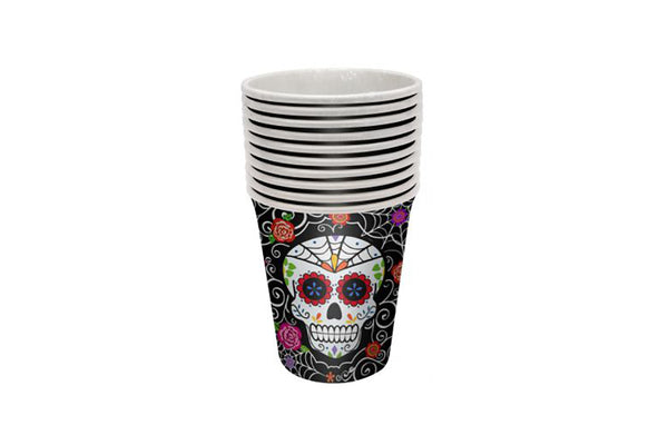 Day of the Dead Paper Cups | Pop Roc Parties
