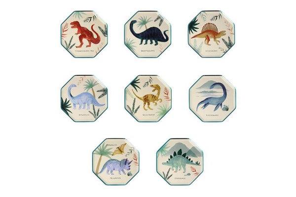 Dinosaur Kingdom Side Plates | Pop Roc Parties