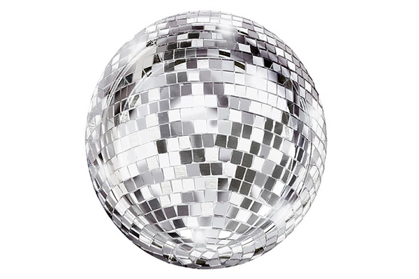 Disco Ball Plates | Pop Roc Parties