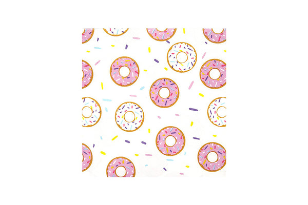 Donut Paper Napkins | Pop Roc Parties