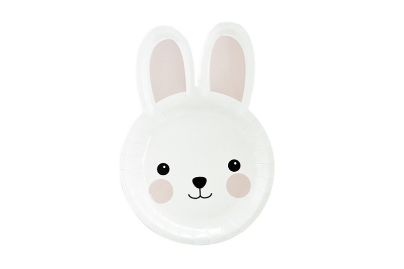 Bunny Face Plates | Pop Roc Parties